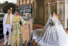 文詠珊意大利婚禮現場圖 文詠珊老公是富二代嗎